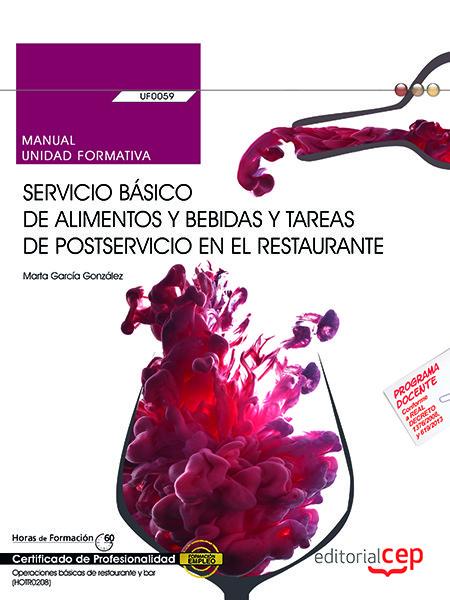 Manual. servicio basico de alimentos y bebidas y tareas de p