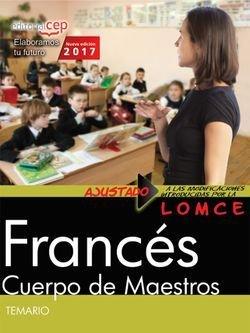 Cuerpo de maestros frances temario