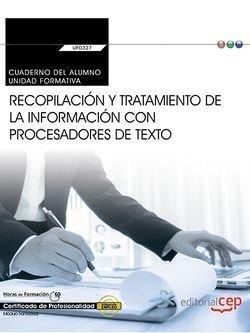 Cuaderno del alumno. recopilacion y tratamiento de la inform