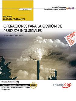 Manual operaciones para la gestion de res