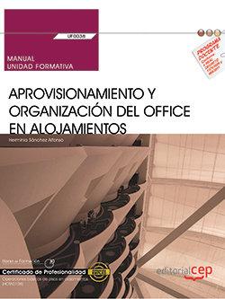 Manual aprovisionamiento y organizacion d