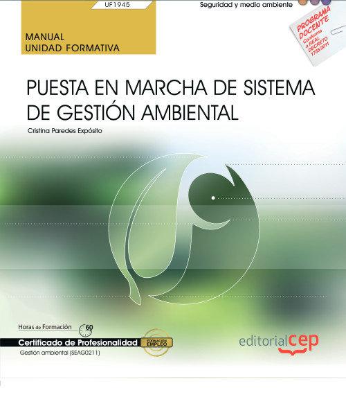 Manual puesta en marcha de sistema de gestion ambiental