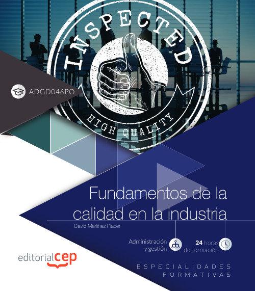 Fundamentos de la calidad en la industria adgd046po especia