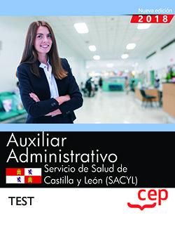 Auxiliar administrativo servicio de salud