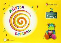 Espiral musica p-3 catala+cd