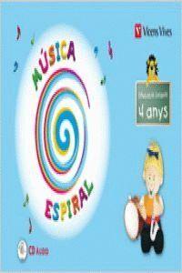 Espiral musica p-4 catala+cd