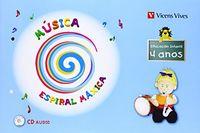 Espiral maxica. musica 4-5 anos