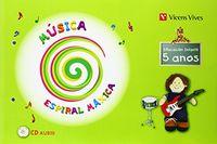 Espiral maxica. musica 5-6 anos
