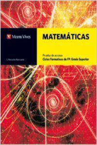 Matematicas prueba acesso cf 11 +solucionario