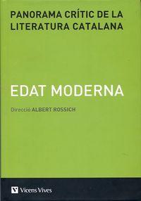 Panorama critic literatura catalana edat moder v-3