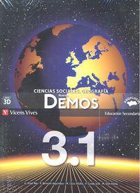 Demos geografia historia 3ºeso trimestres 11