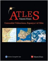 Atles geografic comunitat valenciana