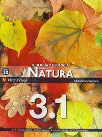 Natura 3 madrid trimestres + separata 2011