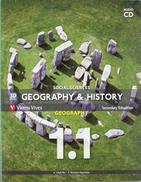 Geography history 1ºeso andaluc.1.1/1.2 +cd 11