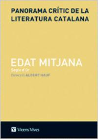 Panorama critic literatura catalana edat m. vol ii