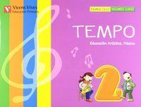 Musica 2ºep tempo+cd 12