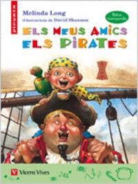 Els meus amics pirates (lletra manuscrita)
