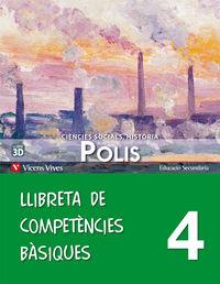 Nou polis 4 llibreta competencies basiques