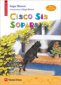 Cisco sis sopars (lletra manuscrita)