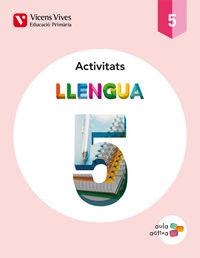 Llengua 5 activitats (aula activa)