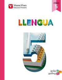 Llengua 5 (5.1-5.2-5.3) valencia (aula activa)