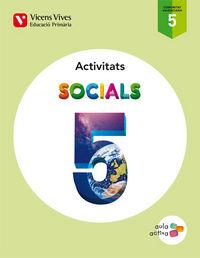 Socials 5 valencia activitats (aula activa)