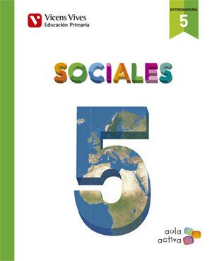 Ciencias sociales 5ºep extremadura 16 aula activa