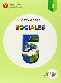 Cuaderno ciencias sociales 5ºep 14 aula act.  vicc