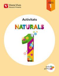 Naturals 1 valencia activitats (aula activa)