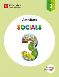 Socials 3 valencia activitats (aula activa)