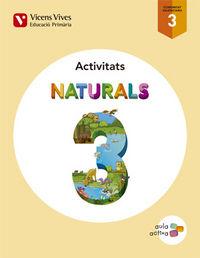 Naturals 3 valencia activitats (aula activa)