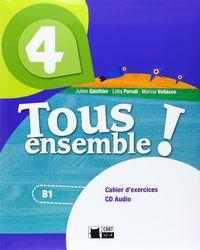Tous ensemble 4ºeso cahier+cd chat noir