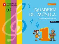 Quadern musica 1 valencia+cd