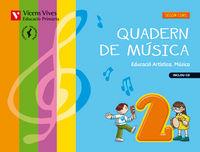 Quadern musica 2 valencia+cd