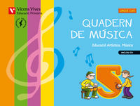 Quadern musica 5 valencia+cd
