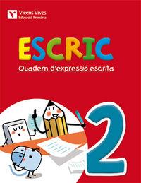 Escric. quadern d'expressio escrita 2