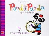 Pandy the panda 3 2ºciclo ei st+cd 14 mec