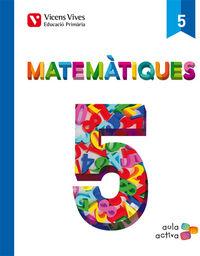 Matematiques 5 (aula activa)
