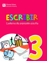 Escribir 3. caderno de expresion escrita