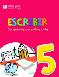 Escribir 5. caderno de expresion escrita