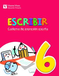 Escribir 6. caderno de expresion escrita