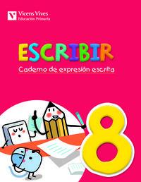 Escribir 8. caderno de expresion escrita