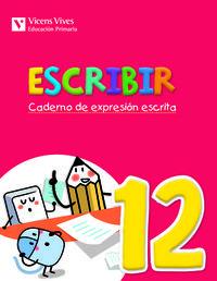 Escribir 12. caderno de expresion escrita