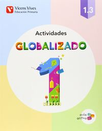 Cuaderno globalizado 1ºep 1.3 mec pauta 14 aula