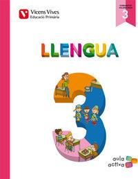 Llengua 3 (3.1-3.2-3.3) valencia (aula activa)