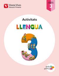 Llengua 3 valencia act (aula activa)