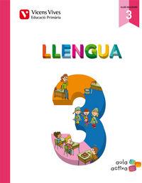 Llengua 3 (3.1-3.2-3.3) balears (aula activa)