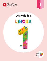 Lingua 1 (1.1-1.2-1.3) actividade (aula activa)