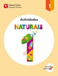 Naturais 1 actividades (aula activa)