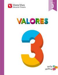 Valores 3 galicia (aula activa)